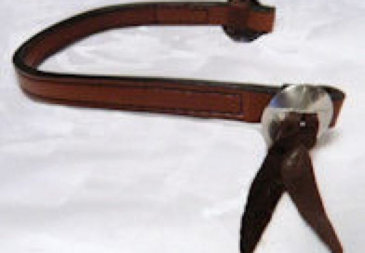 Western Leather Browband