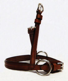 Western Leather Noseband